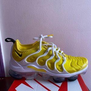 Yellow Nike Vapormax